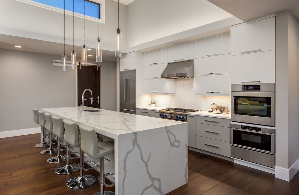 Mel Stevens Design Modern Kitchen