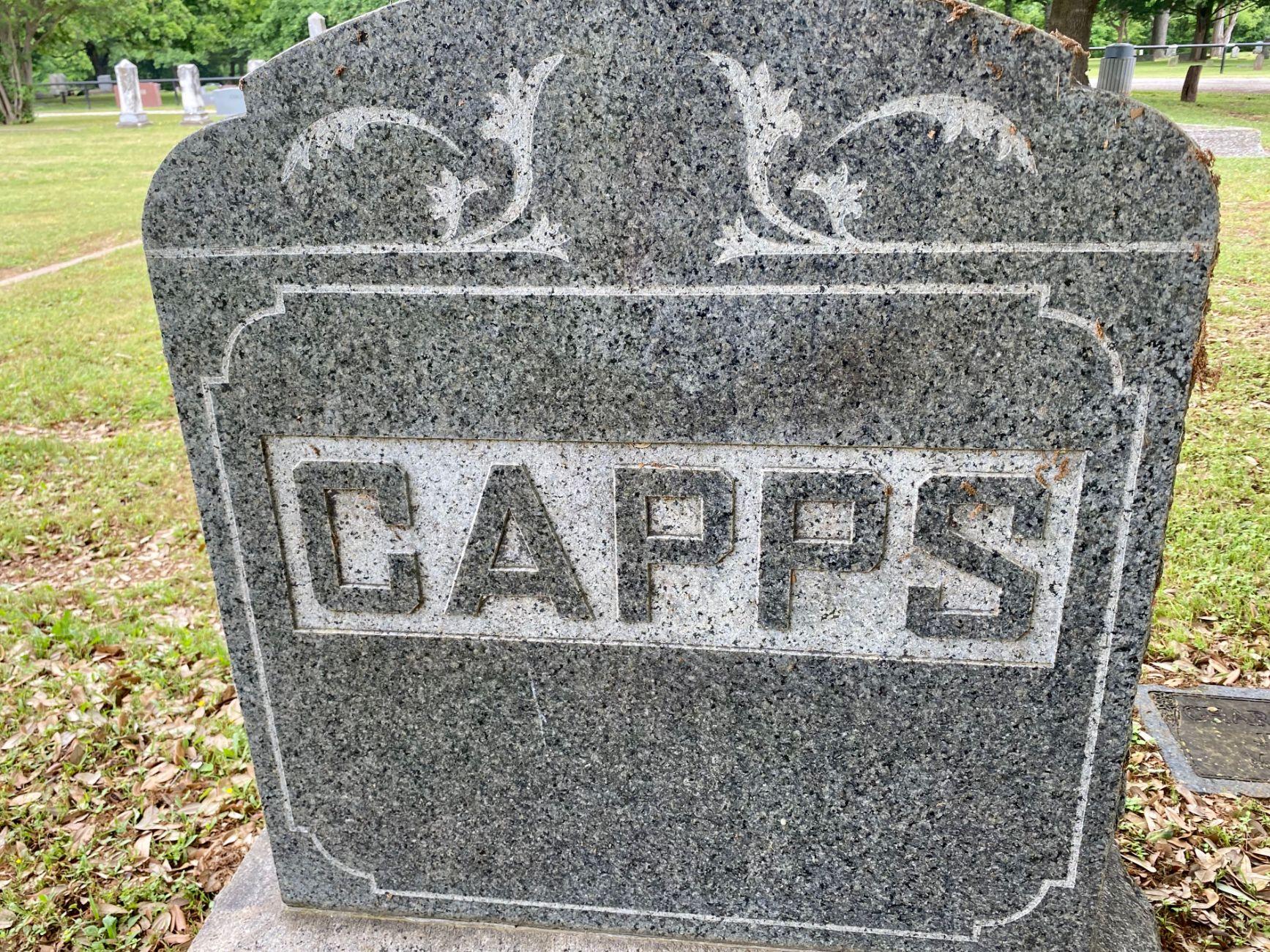 Capps Family Plot