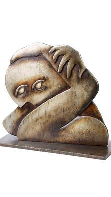 Downward Spiral sculpture