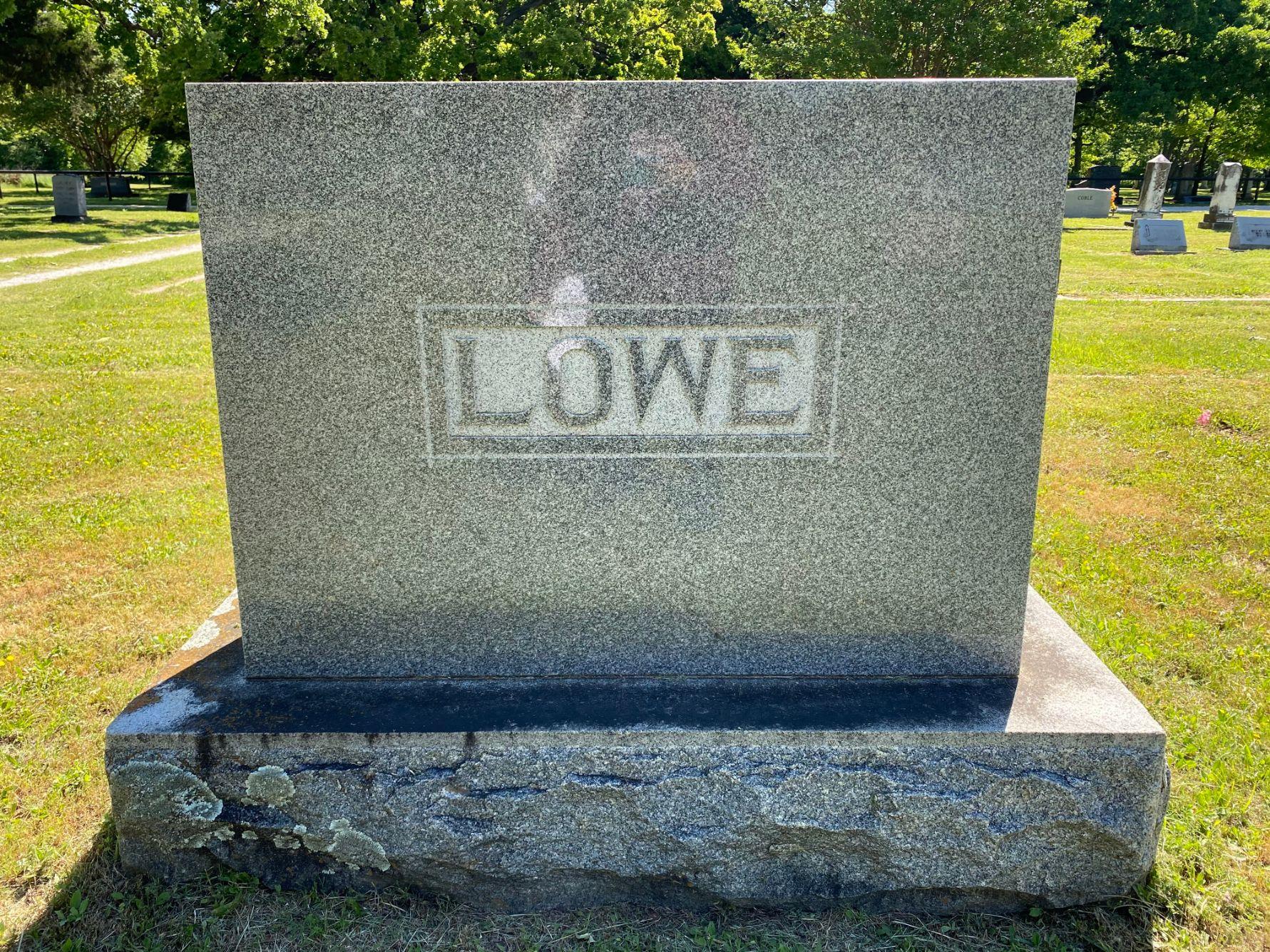 Lowe Family Plot
