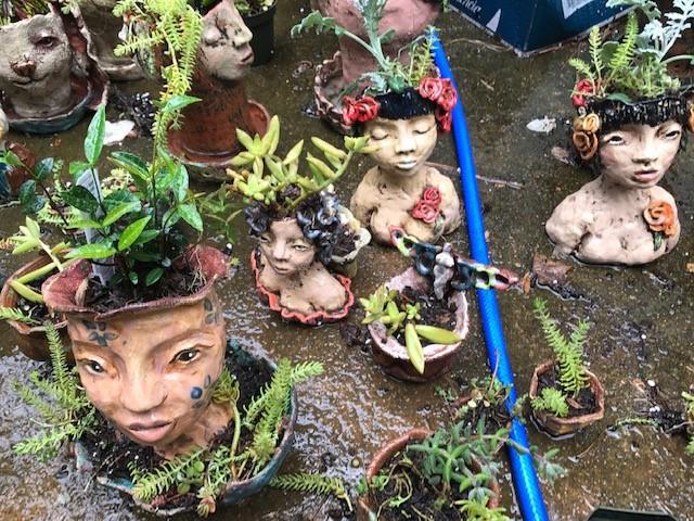 Garden Art Headed to a Show