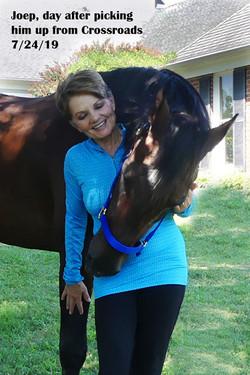 Joep Has Landed in Horse Heaven!