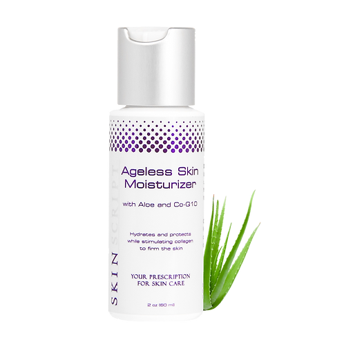 Ageless Skin Moisturizer, with Aloe and CoQ10