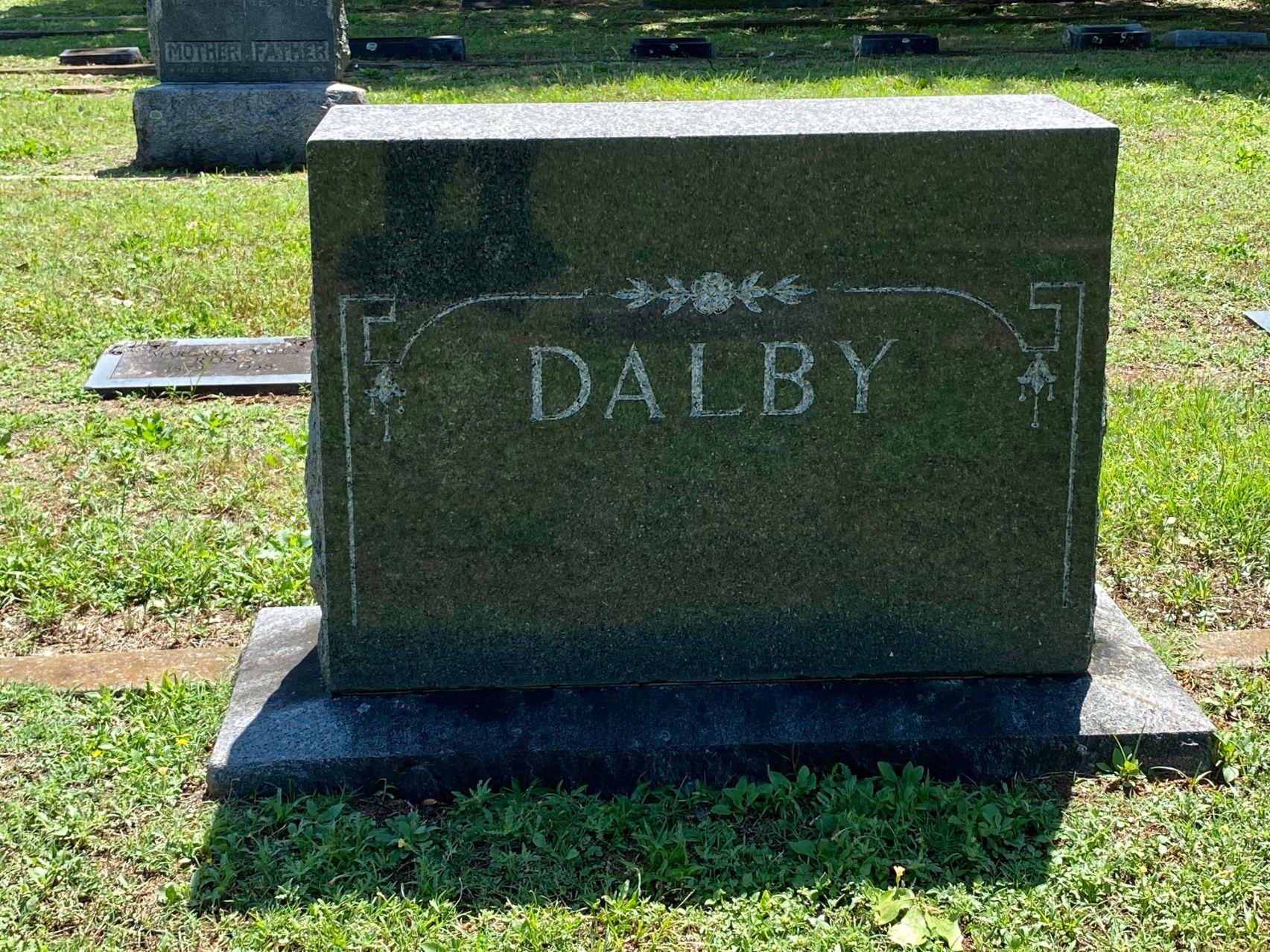 Dalby Family Plot