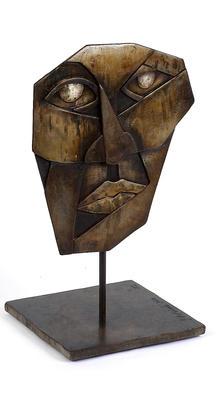 BrokenMan sculpture