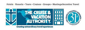 The Cruise & Vacation Authority Logo Web