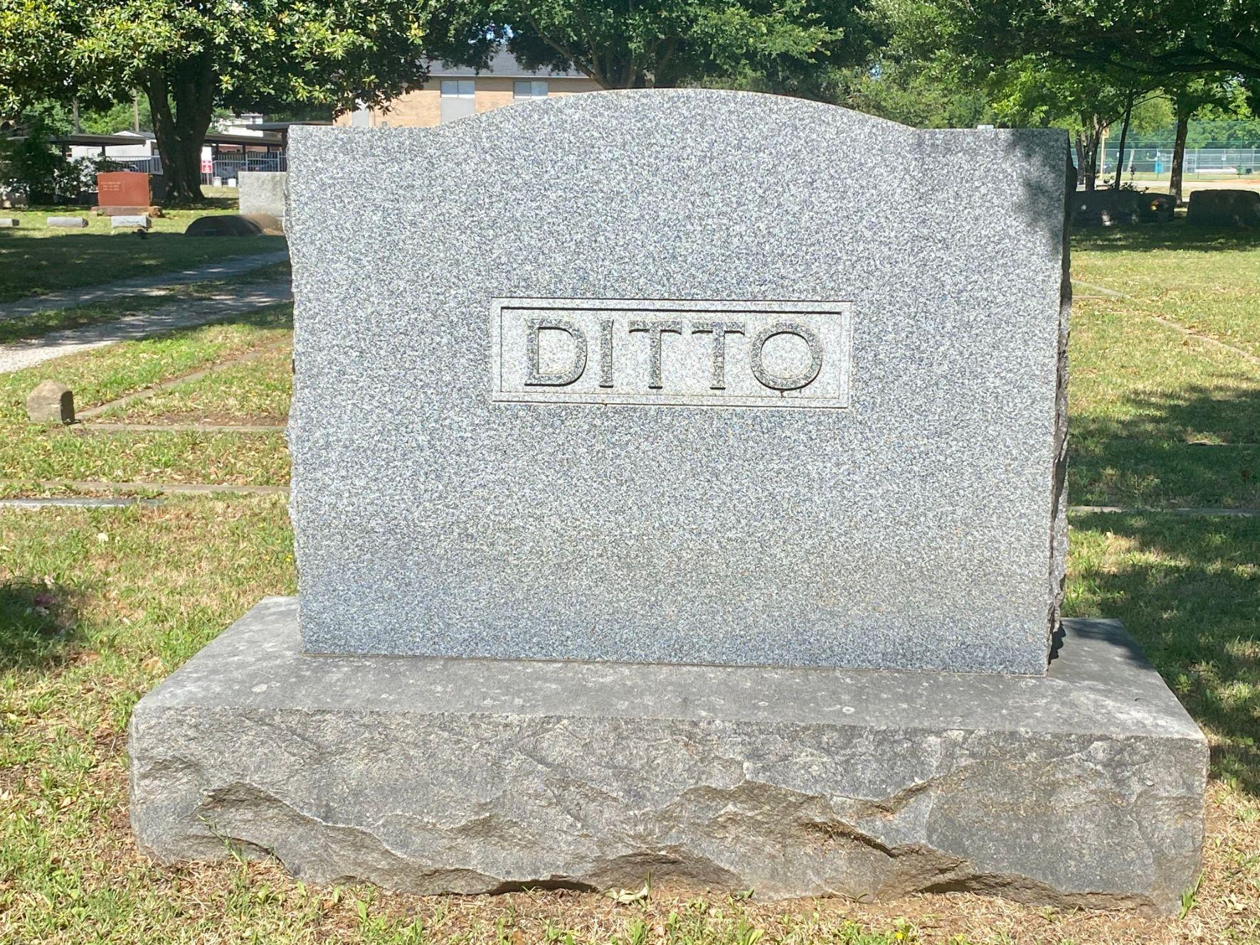 Ditto Family Plot