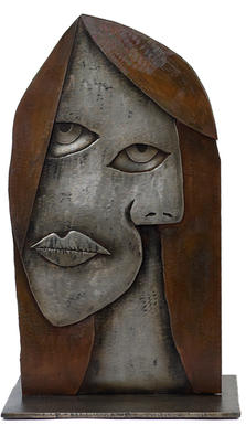 Picasso's Muse sculpture