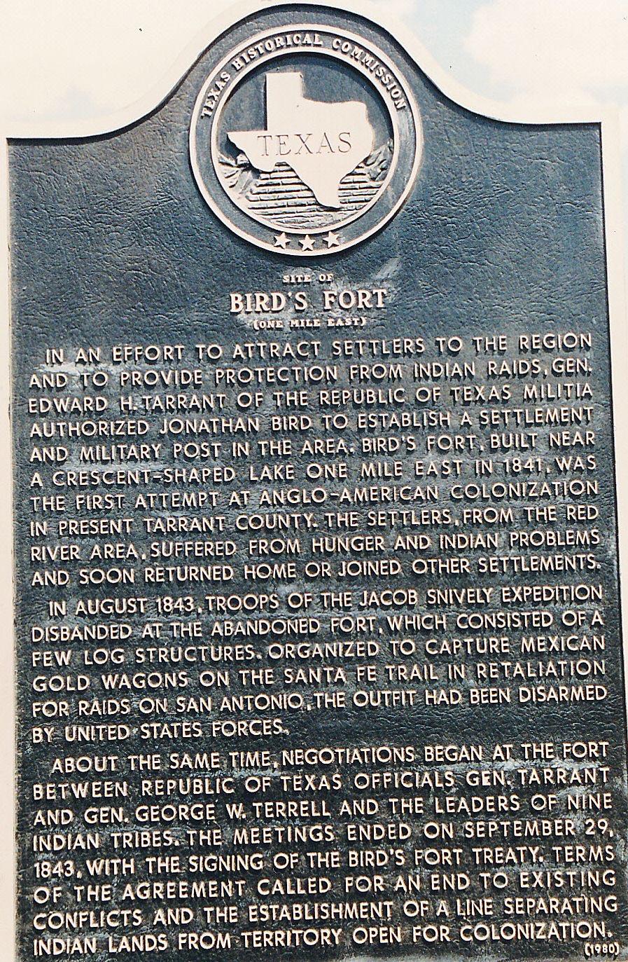 Site of Bird's Fort