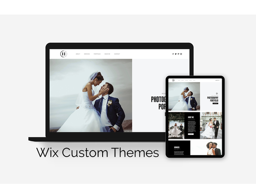 New for 2020, Wix Custom Themes