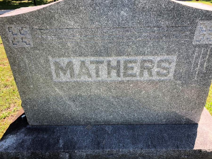 Mathers Family Plot