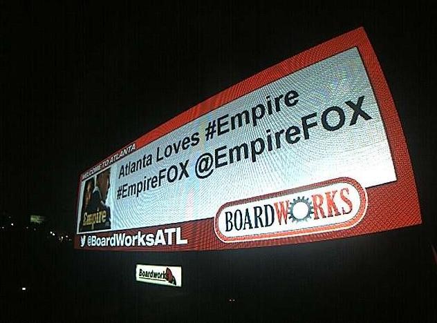 Billboards Tweet