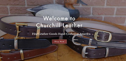 Churchill Leather Home Page