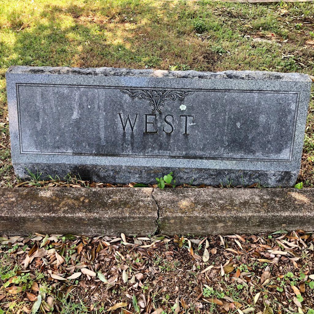 West Family Plot