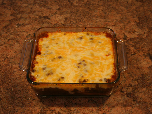 """Ultimate Good-ole-Boy's Cowboy Lasagna"""