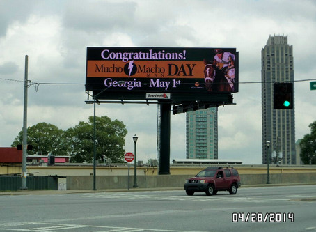 May 1st DECLARED MUCHO MACHO MAN DAY IN GEORGIA BY GOVERNOR NATHAN DEAL
