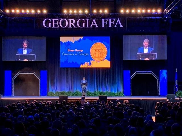 Georgia FFA Macon Coliseum