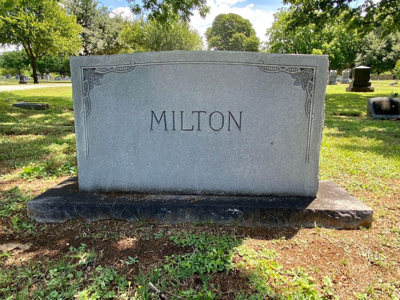 Milton Family Plot