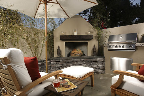 Outdoor Kitchens by Sticks & Stones Kitchens