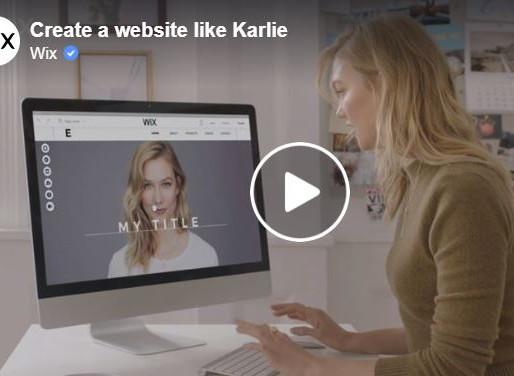 Supermodel Karlie Kloss Loves Wix