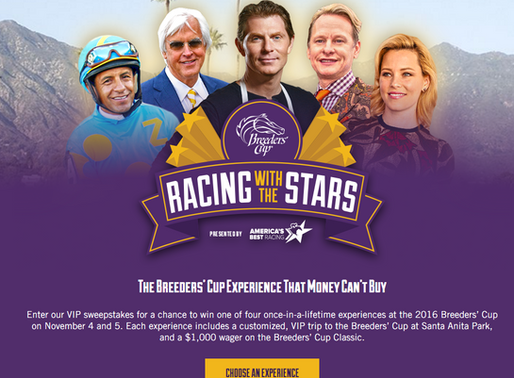 Win the Ultimate Breeders' Cup Experience