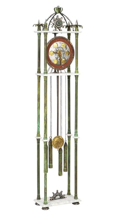 Time Machine Grandfather Clock
