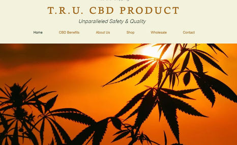 T.R.U. CBD CBD Product Website for Grammy Award Winning Rappe...