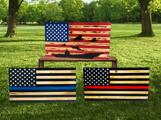 How The American Flag Brought A Family Closer Together.