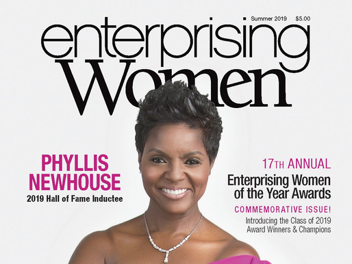 Phyllis Newhouse Inducted Into the Enterprising Women Hall of Fame