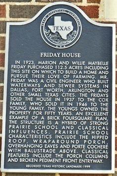 Friday House