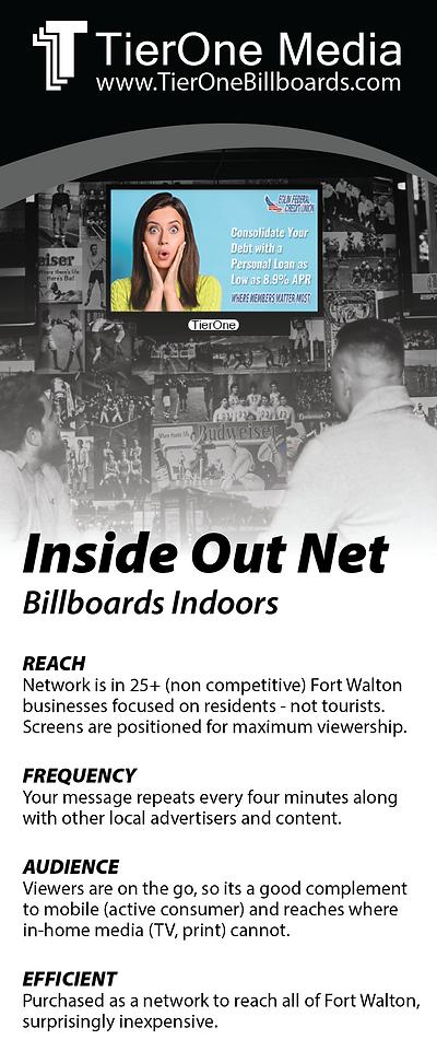 Indoor TV Ad