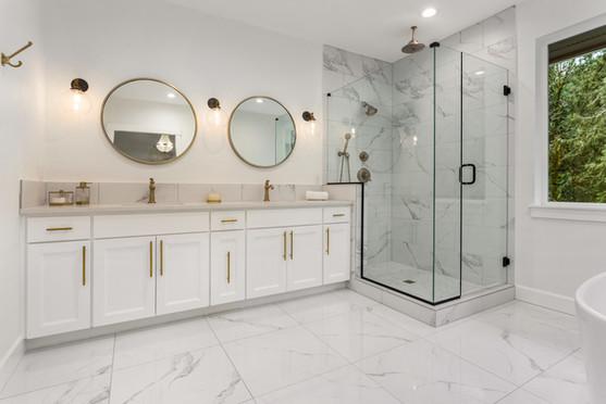 Sticks & Stones Modern Bathroom Remodeling