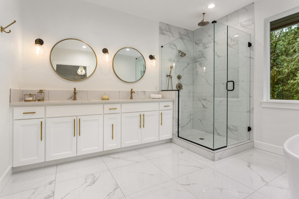 Sticks & Stones Modern Bathroom Remodeling