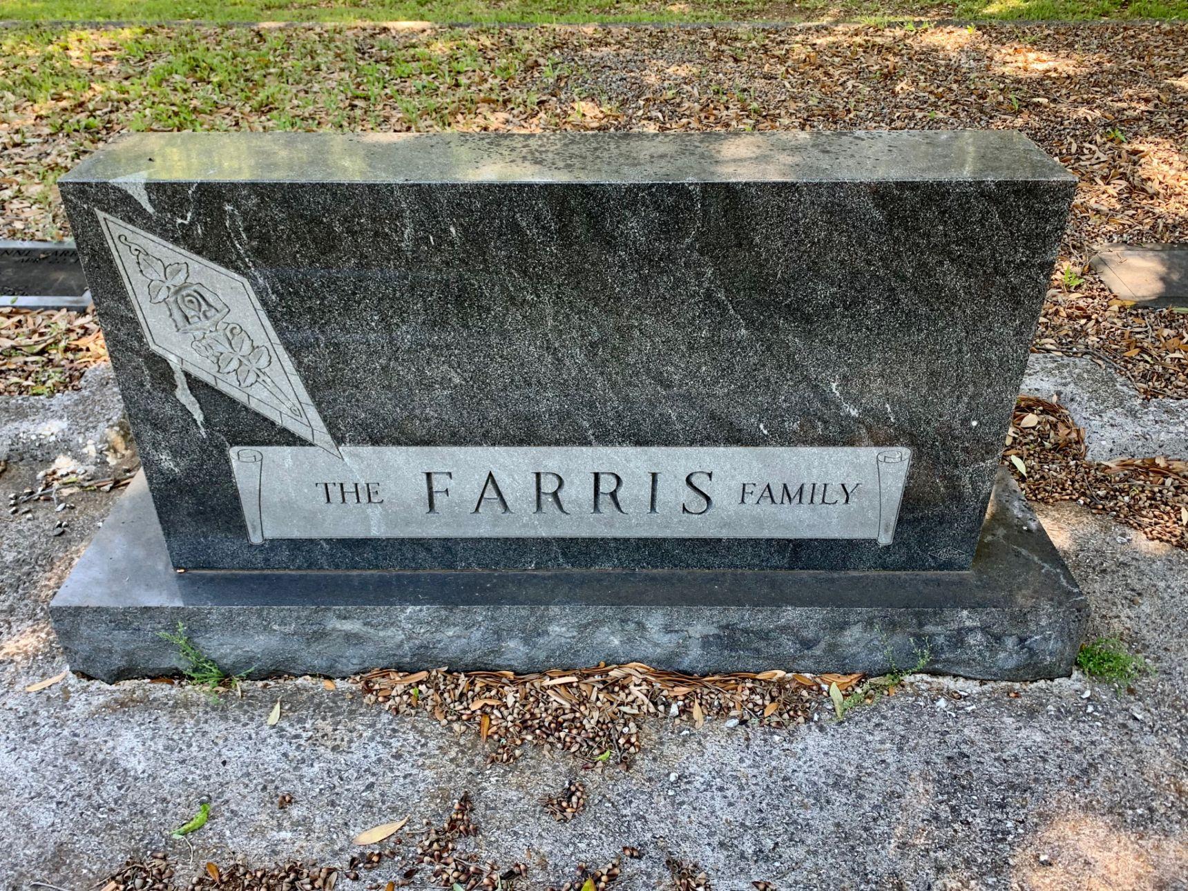 Farris Family Plot