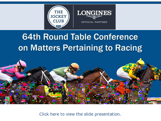 The Jockey Club  2016 Round Table Conference on Matters Pertaining to Racing