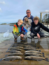 Pungo Charters - The Dog Likes To Fish