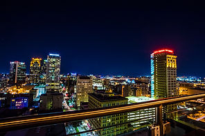 Birmingham Skyline at Night