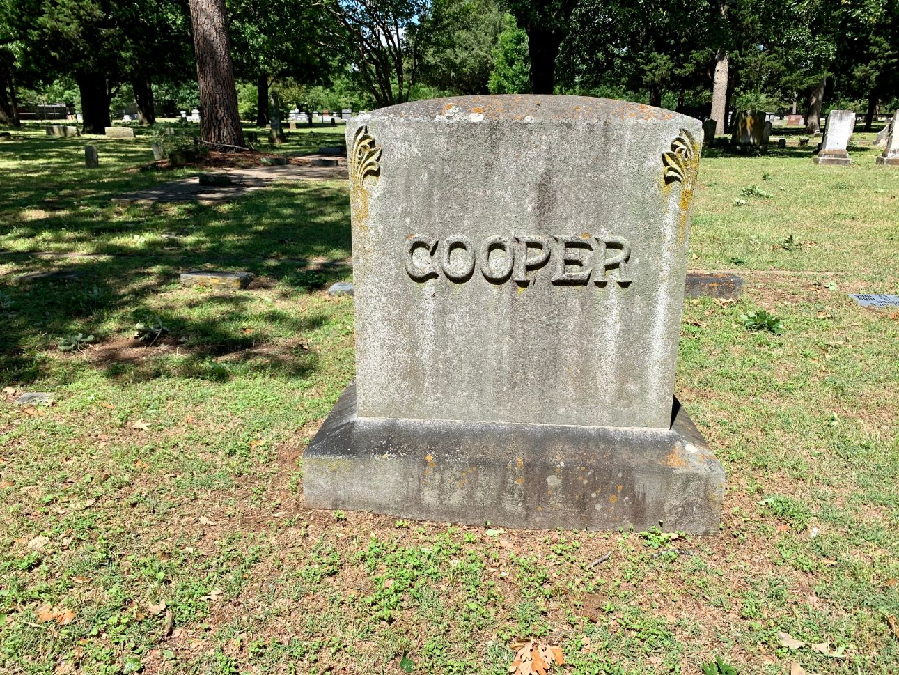 Cooper Family Plot