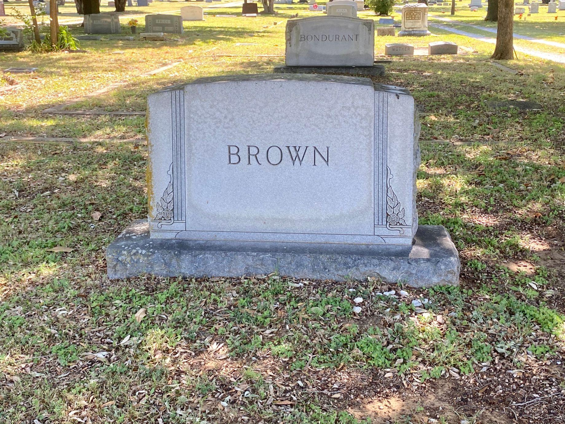 Brown Family Plot