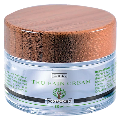 T.R.U. CBD PAIN CREAM