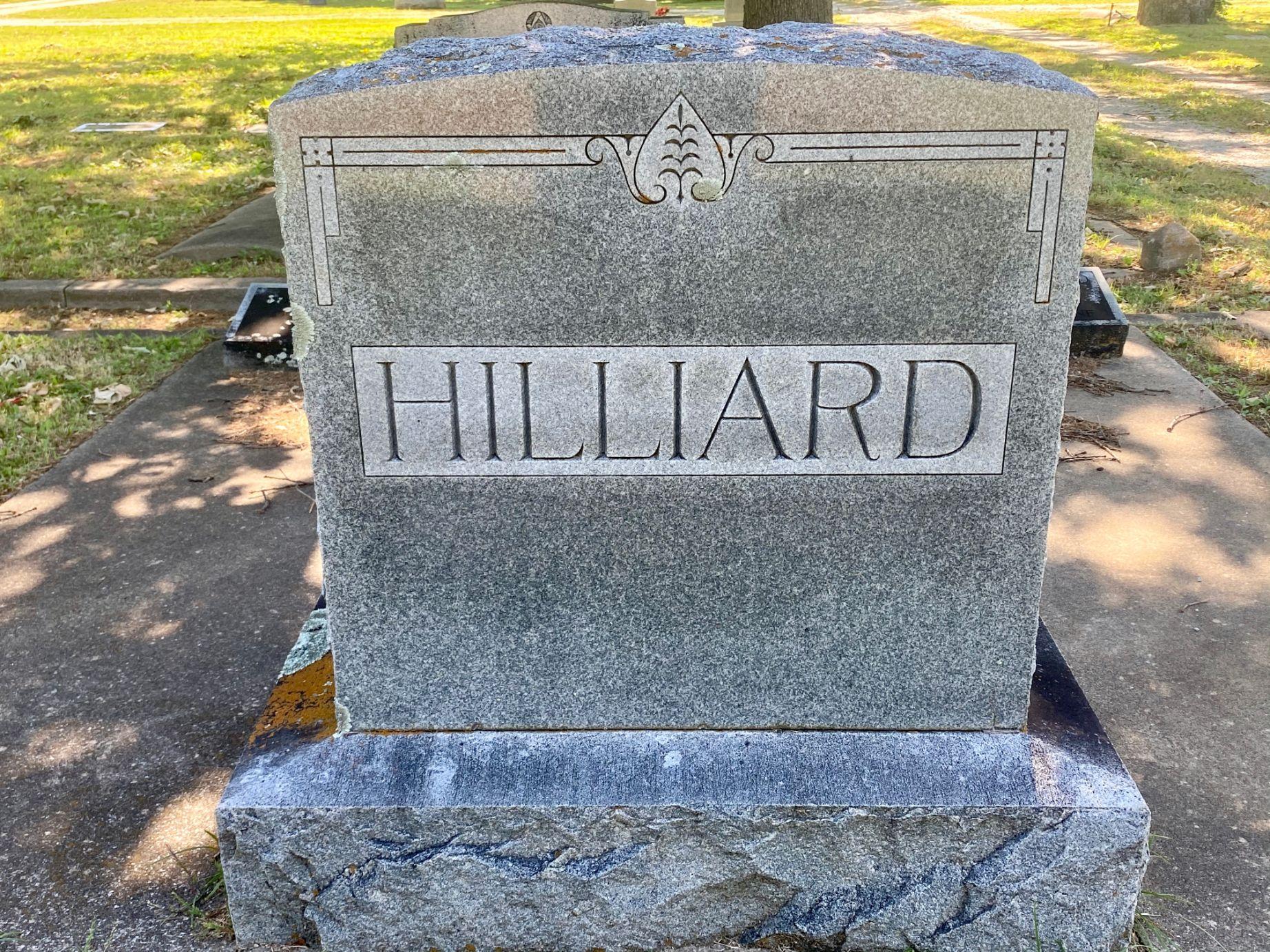 Hilliard Family Plot