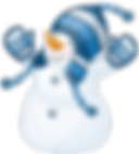 Snowman_with_Blue_Hat_Clipart.png