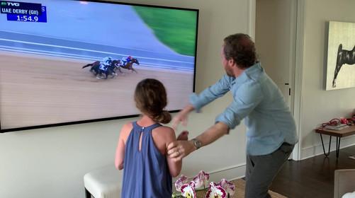 Watching the UAE Derby