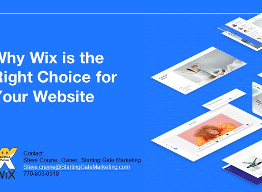 Choose Wisely, Choose WIX