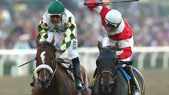 Mucho Macho Man finishes a game second in the Breeders' Cup Classic