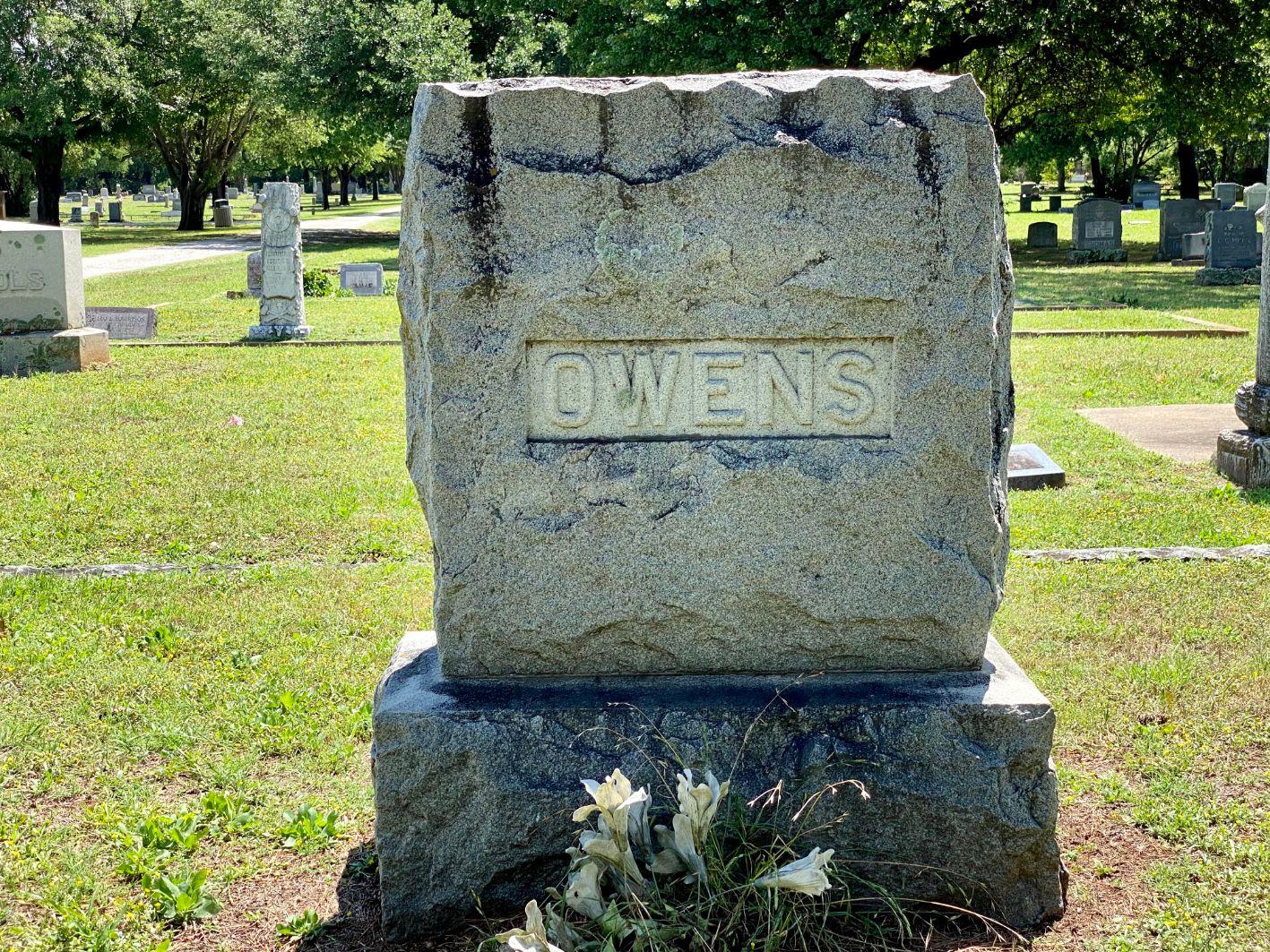 Owens Family Plot