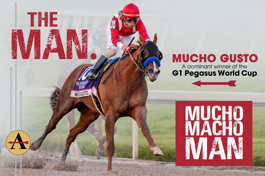 Mucho Gusto G1 Pegasus World Cup