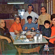 Our Family at Our First Restaurant