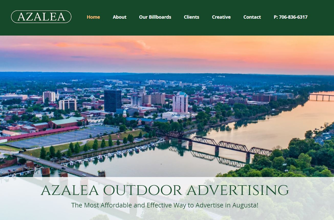 Outdoor Advertising Web Design