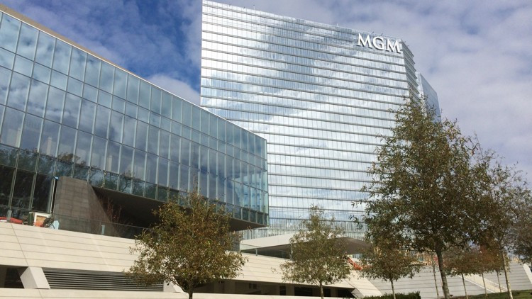 The MGM National Harbor resort in Oxon Hill, Md., just outside of Washington, is seen as a model for what MGM Resorts International could build in Georgia if Las Vegas-style gambling is legalized in the state. The $1.4 billion complex includes a 308-room hotel, 12 eateries, a 125,000-square-foot casino floor, retail and a 3,000-seat theater. J. Scott Trubey/strubey@ajc.com